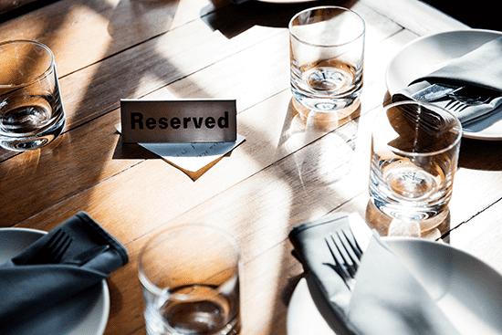 Gestoreservas, Sistema de reservas para restaurantes