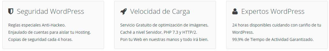 servicios de Webempresa