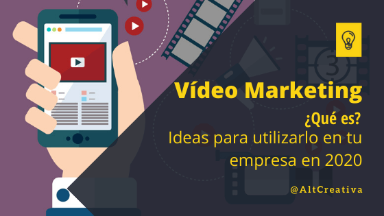 Vídeo Marketing blog de marketing digital