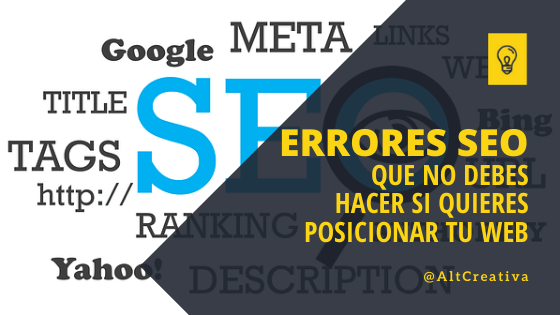 12+1 Errores SEO | ¿Por que tu Página Web no Posiciona?, Post SEO de Alternativa Creativa - Enlaces internos