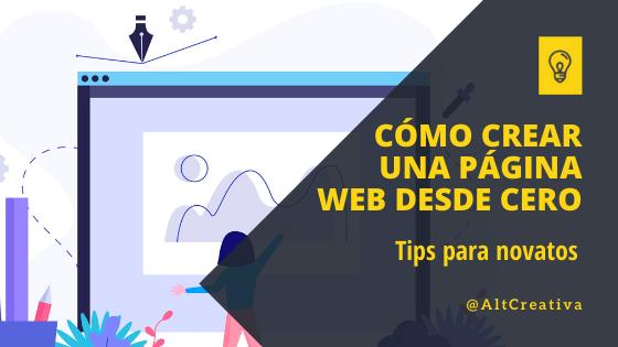Cómo crear una página web desde cero