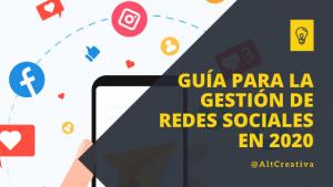 Guía para la gestión de redes sociales para restaurantes