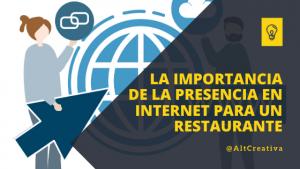 La importancia de la presencia en internet para un restaurante