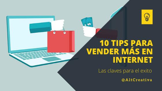 10 Tips para vender más productos o servicios online con éxito