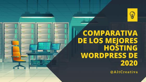 Mejor hosting WordPress para alojar la web de mi empresa