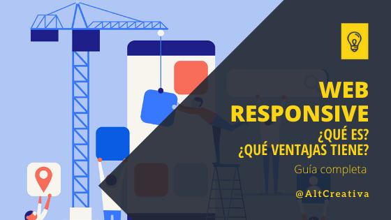 ¿Qué es un diseño web responsive? guía completa