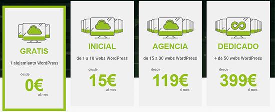 El mejor hosting wordpress barato wpscale