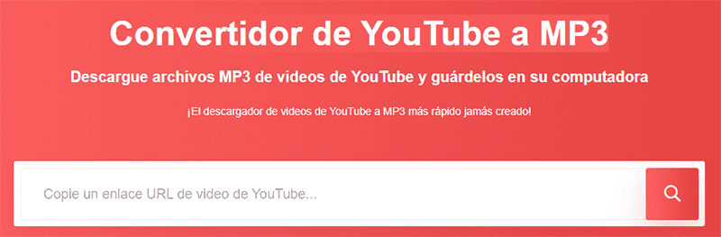 Go mp3 Convertidor de YouTube a MP3