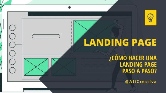Cómo crear una landing page paso a paso