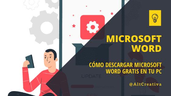Cómo descargar Microsoft Word gratis en tu PC